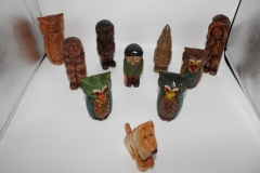 A Variety of Carvings