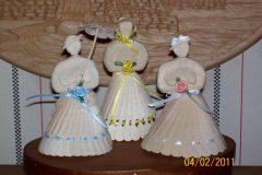 Fan Carved Ladies