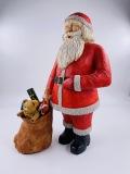 Santa and His Bag of Toys