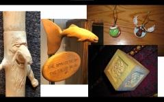 Various carvings