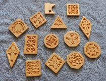 Trying Chip Carving Ornaments