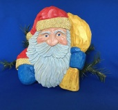 Santa Relief Wall Hanging