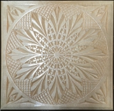 PC9 Chip Carved Trivet
