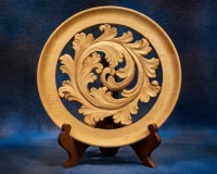 First Place - Tom Severson - Acanthus Plate