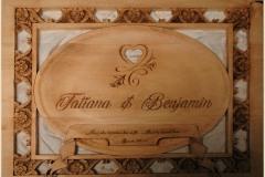 Third Place (Tie) - Mark Fredrickson - Ben and Tatiana Carving