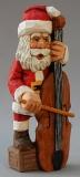 Santa Playing Cello On Box